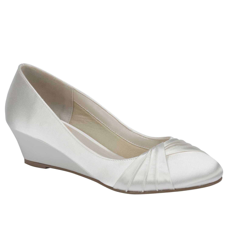 chaussures mariage gleam chaussures mariage ivoire gleam - Chaussure Compense Mariage