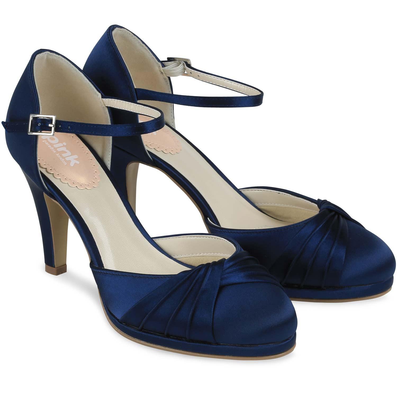 Chaussures de soirée bleues femme SEcqjUr