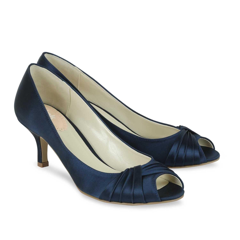 chaussure bleu marine mariage. Black Bedroom Furniture Sets. Home Design Ideas