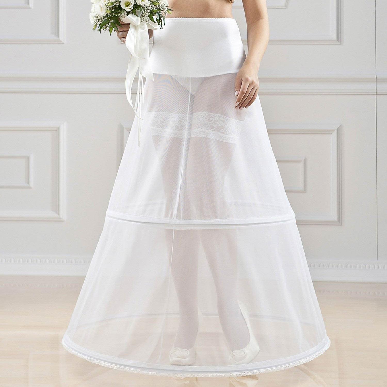 jupon mariage romana 2 cerceaux circ 270cm - Jupon Mariage 2 Cerceaux