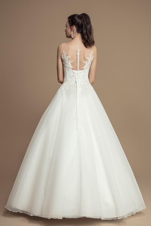 Robe mariée princesse dentelle française