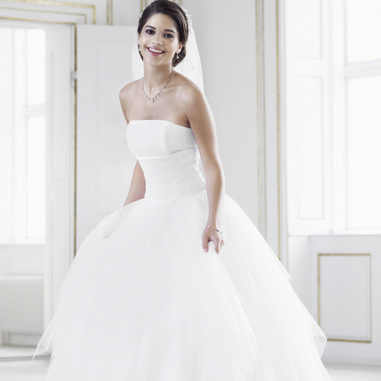 Robe de mari e blanche amandine for Robes de mariage de juin