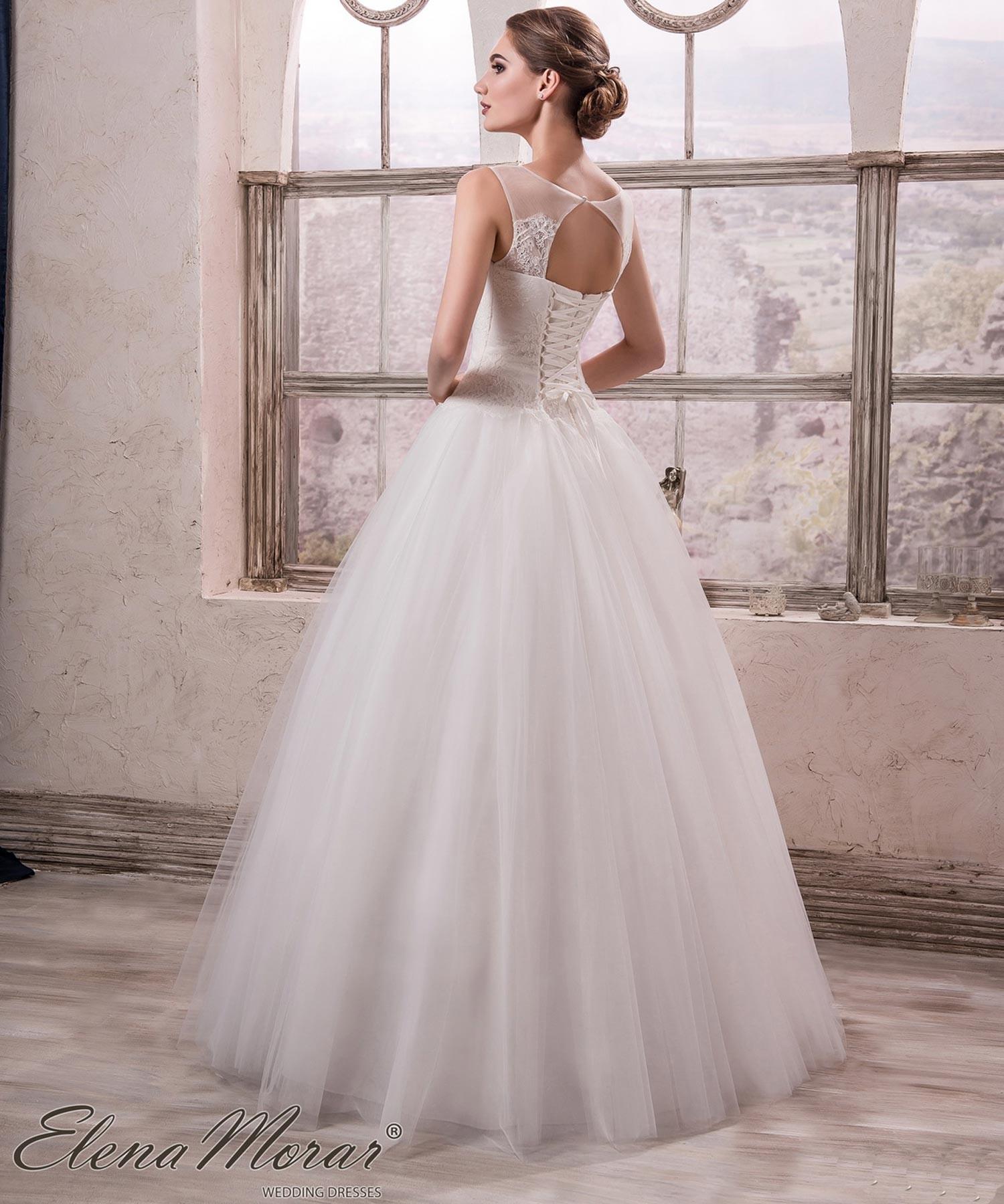 7694cf7c7ace6 Robe de mariée bustier dentelle française Sveta