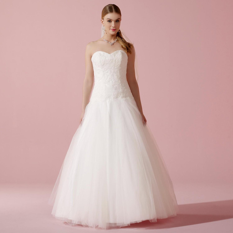 Robe de mariée pas cher bustier coeur Zoya