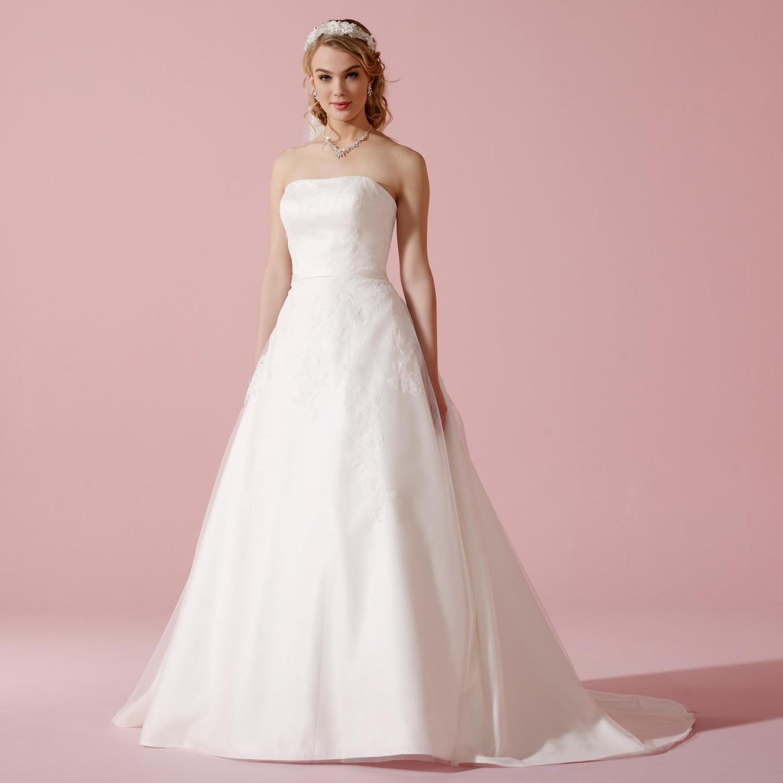 robe de mariage princesse dentelle bustier droit capucine. Black Bedroom Furniture Sets. Home Design Ideas
