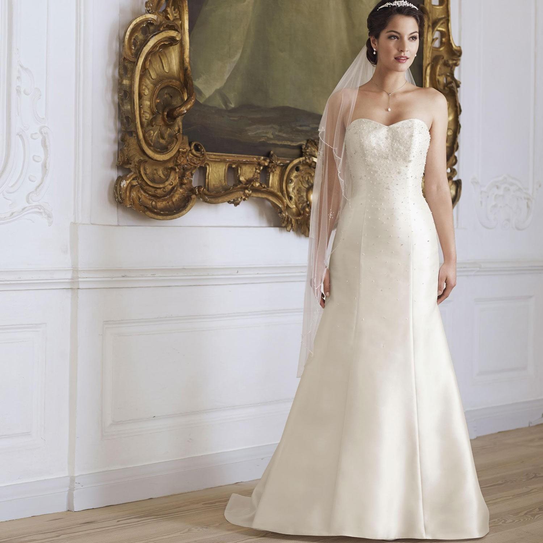 Robe de mari e sir ne ivoire avec bustier coeur manon for Robes d allure de mariage