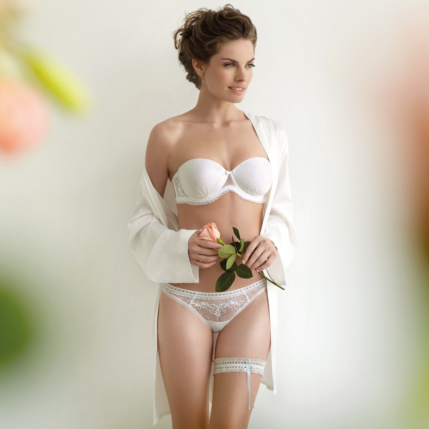 lingerie mariage ivoire alexandra - Guepiere Mariage