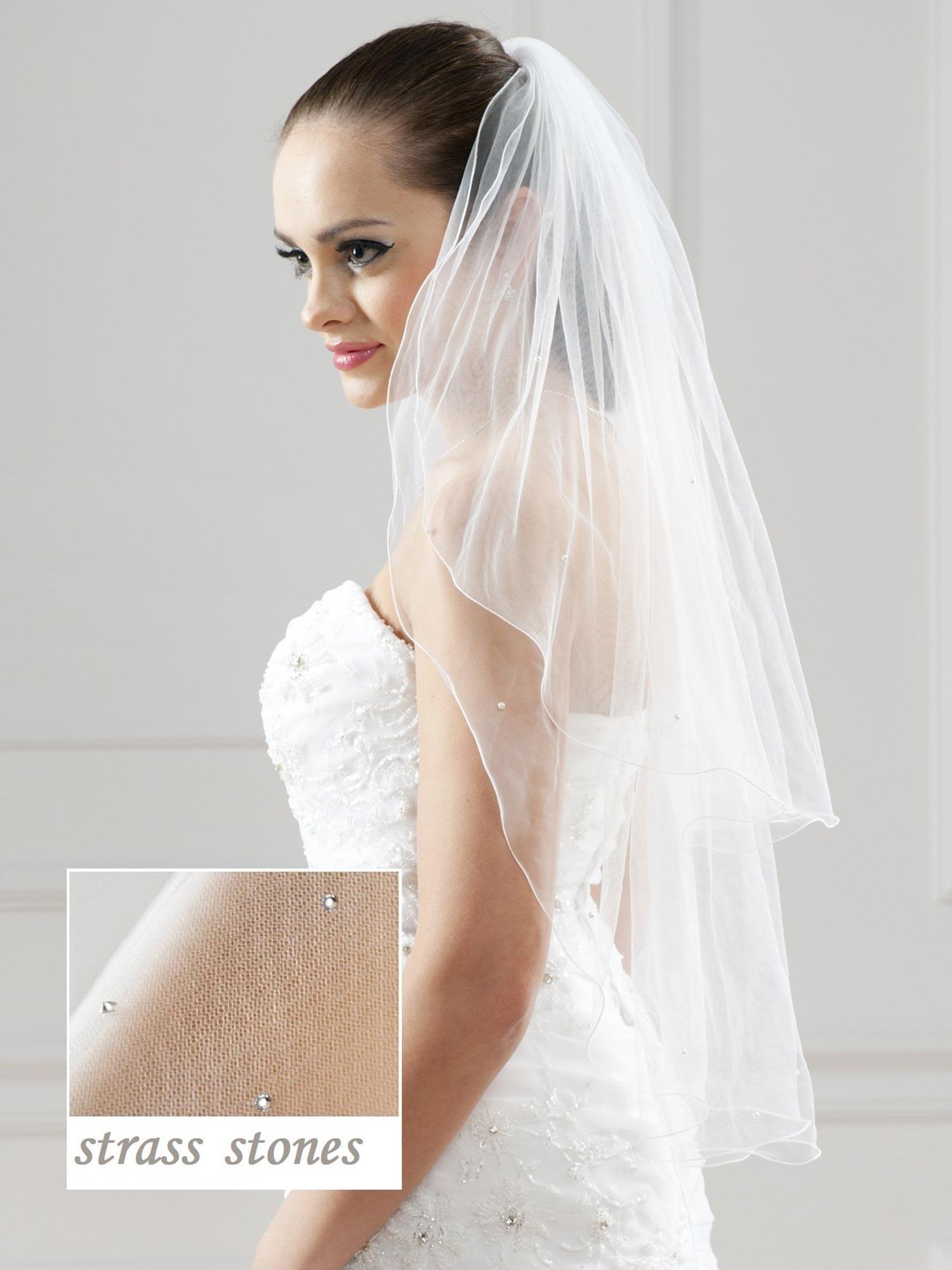 Voile de mariage cristal Miranda