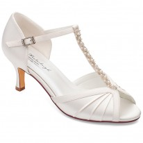 Chaussure Mariage Ivoire Femme