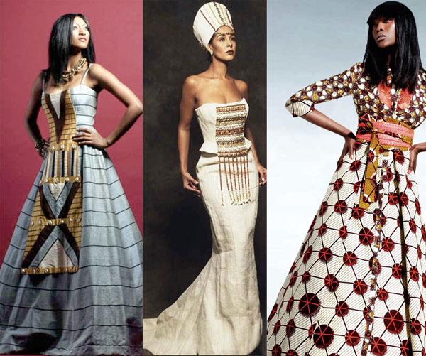 Très coloré, le boubou inspire beaucoup la haute couture pour donner ...