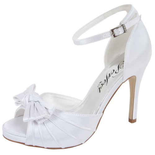 chaussures mariage satin