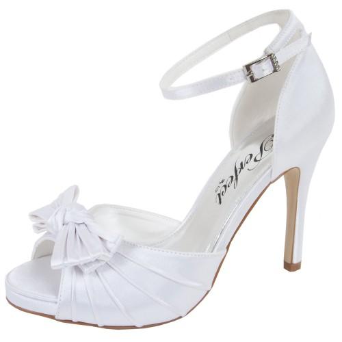 chaussures mariage satin