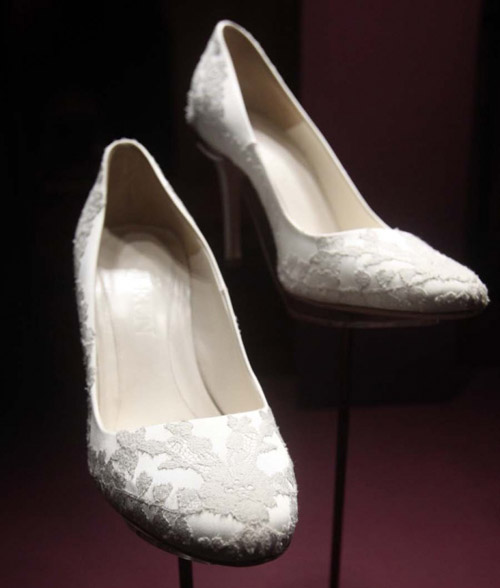 chaussure mariée Kate Middleton