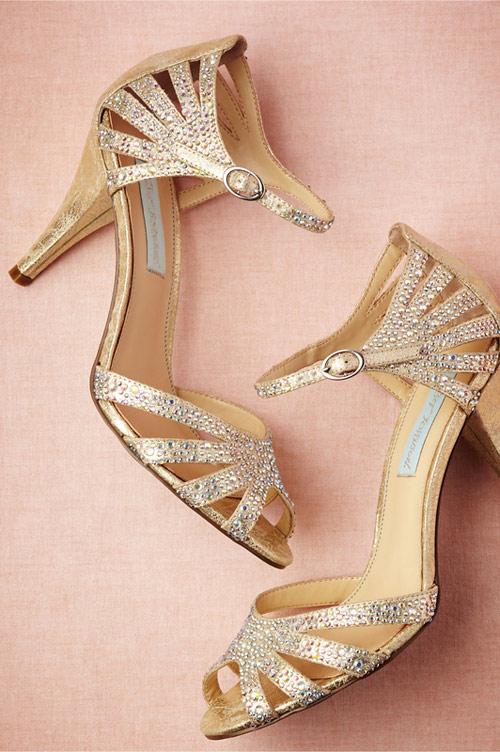 chaussures mariée BHLDN