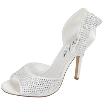 Chaussures mariage strass