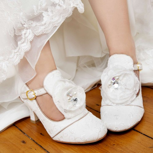 Chaussures mariage vintage Dorothy