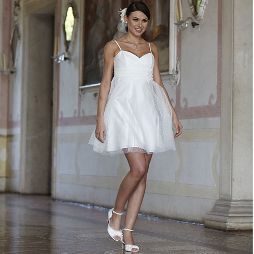Robe blanche pour mariage mairie