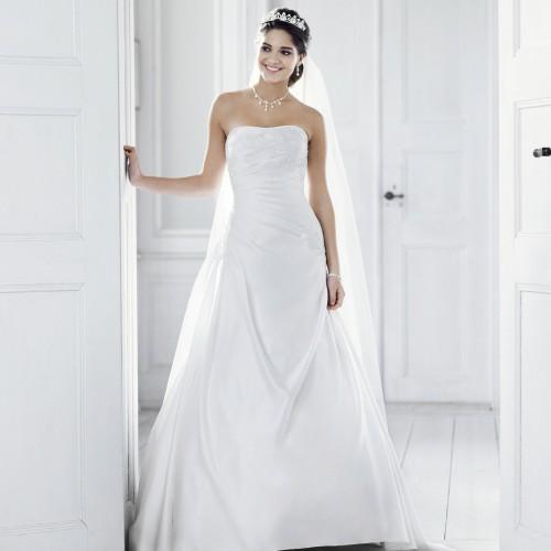 Quelle robe de mariée porter lorsque lon est petite ?