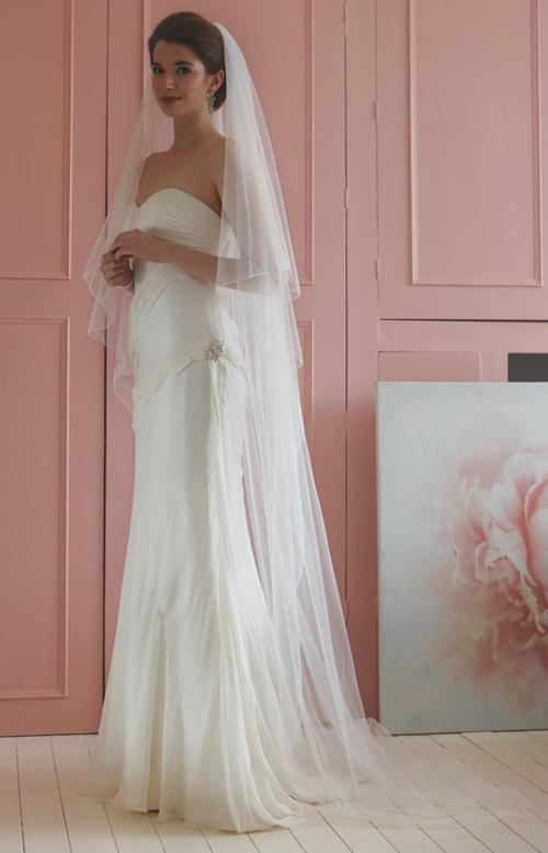 Voile de mari e ou voilette for Robes que les gens portent aux mariages